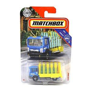 Caminhão Transporte de Vidros Glass King 1/64 Matchbox MBX Service