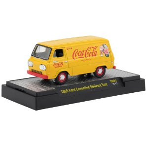 Ford Econoline Delivery Van 1965 Coca Cola 1/64 M2 Machines 52500 Release YR01