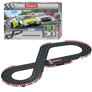 Pista Elétrica Slot Car Carrera DTM Speed Duel Audi X Mercedes 5,3 metros