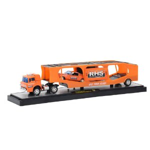 Ford C-950 Truck 1964 & Ford Mustang Fastback 2+2 1968 RHS 1/64 M2 Machines Auto Drivers 36000 Release 30