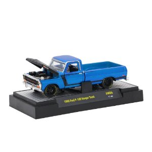 Ford F-100 Ranger Truck 1969 1/64 M2 Machines Auto Mods 32600 Release AM06