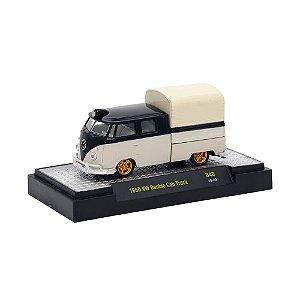 Volkswagen Kombi Cabine Dupla Truck 1960 1/64 M2 Machines Auto Trucks 32500 Release 48