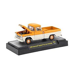 Chevrolet Apache De Luxe Fleetside 1959 1/64 M2 Machines Auto Trucks 32500 Release 50