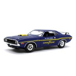 Dodge Challenger R/T HEMI 1970 Goodyear 1/24 M2 Machines Detroit Muscle 40300 Release 63