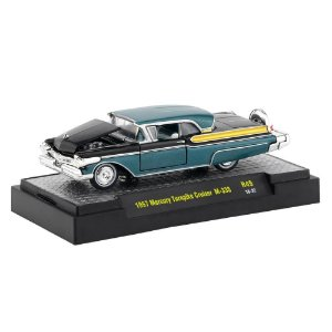 Mercury Turnpike Cruiser M-335 1957 1/64 M2 Machines Auto Thentics 32500 Release 49
