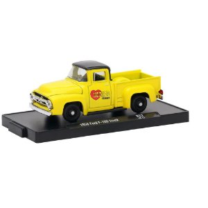 Ford F-100 Truck 1956 Hooker 1/64 M2 Machines Auto Drivers 11228 Release 52