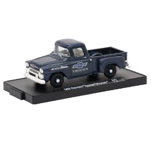 Chevrolet Apache Stepside 1958 Trucks 100 Years 1/64 M2 Machines Auto Drivers 11228 Release 45