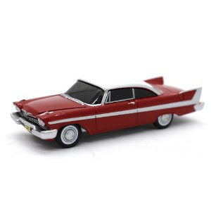 Christine Plymouth Fury 1958 1/64 Auto World Silver Screen Machines