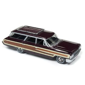 Ford Country Squire 1964 1/64 Auto World Muscle Wagons Premium Series Release 1 Versão B