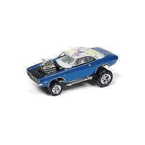 Dodge Challenger 1971 Zingers! 1/64 Johnny Lightning Street Freaks 2018 Series Release 1 Versão A