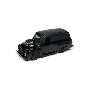 Ford Panel Delivery 1955 Blacked Out 1/64 Johnny Lightning Street Freaks 2018 Series Release 1 Versão A