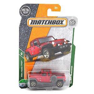 Jeep Gladiator 2005 1/64 Matchbox MBX Road Trip 65° Anniversary