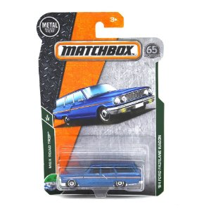 Ford Fairlane Wagon 1964 1/64 Matchbox MBX Road Trip 65° Anniversary