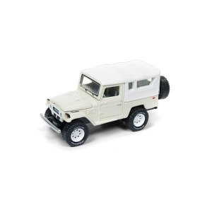 Bandeirante Toyota Land Cruiser 1980 1/64 Johnny Lightning Classic Gold Collection 2017 Release 4 Versão A