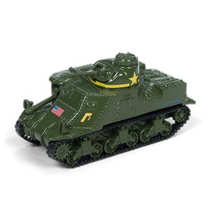 Tanque de Guerra M3 Lee Segunda Guerra Mundial 1/64 Johnny Lightning The Greatest Generation 2018 Release 1 Versão A