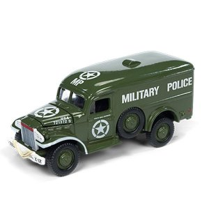 Dodge WC54 Segunda Guerra Mundial 1/64 Johnny Lightning The Greatest Generation 2018 Release 1 Versão A
