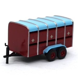 Livestock Trailer 1/76 Oxford Commercials