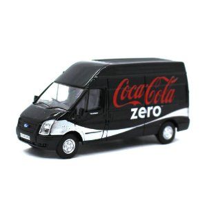 Ford Transit LWB High Roof Coca Cola Zero 1/76 Oxford