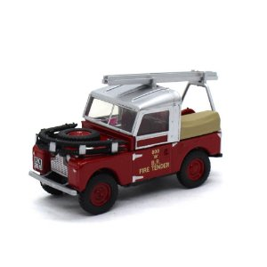 Land Rover 88 Fire Tender British Rail 1/76 Oxford Commercials