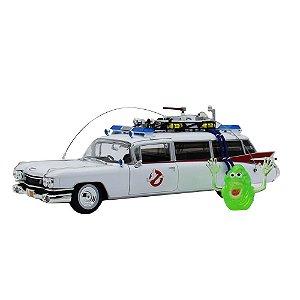 Ecto 1 Os Caça Fantasmas 1 1959 Cadillac 1/18 Auto World