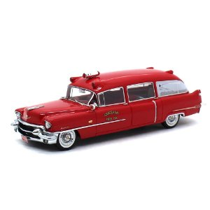 Cadillac Miller Ambulância 1956 1/43 Neo Scale Models
