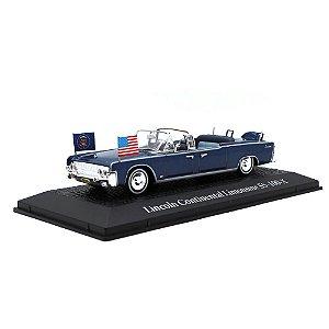 Lincoln Continental Limousine SS 100 X Presidente JF Kennedy USA 1963 1/43 Norev Atlas