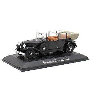 Renault Reinastella Cabriolet 1936 Presidente França Albert Lebrun 1/43 Norev Atlas