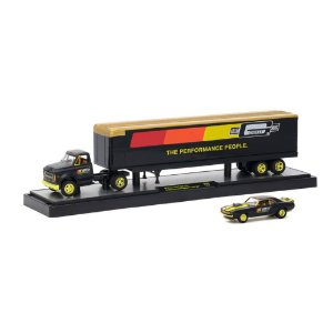 CHASE Chevrolet C60 Truck 1970 & Chevrolet Camaro Z/28 RS 1969 Mr. Gasket 1/64 M2 Machines Auto Drivers 36000 Release 30