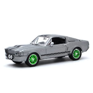 GREEN MACHINE Ford Mustang 1967 Eleanor 60 Segundos 1/43 Greenlight