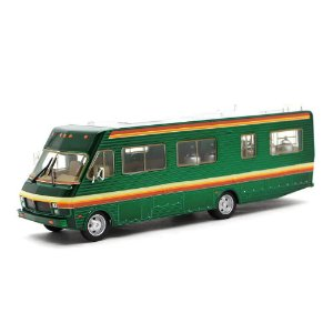 GREEN MACHINE Trailer Breaking Bad Fleetwood Bounder RV 1986 1/43 Greenlight