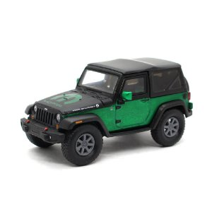 GREEN MACHINE Jeep Wrangler 2010 All-Terrain 1/43 Greenlight