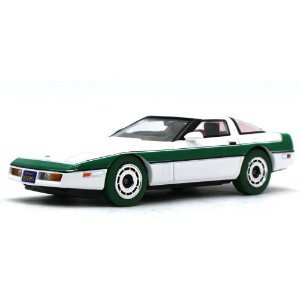 GREEN MACHINE Chevrolet Corvette C4 1984 Esquadrão Classe A 1/43 Greenlight