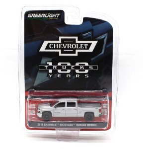 GREEN MACHINE Chevrolet Silverado Red Line Edition 2018 1/64 100 Years Truck