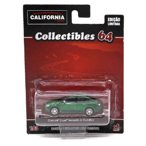 GREEN MACHINE Chevrolet Cruze Táxi Guarulhos 1/64 Greenlight California Collectibles 64