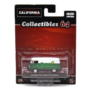 GREEN MACHINE Volkswagen Kombi Paulo Pamonha 1/64 Greenlight California Collectibles 64
