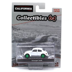 GREEN MACHINE Volkswagen Fusca 1/64 Greenlight California Collectibles 64