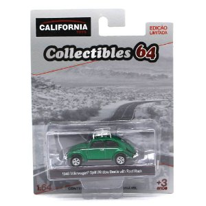 GREEN MACHINE Volkswagen Fusca 1948 1/64 Greenlight California Collectibles 64