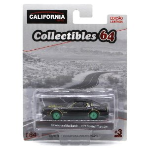 GREEN MACHINE Pontiac Trans AM 1977 Smokey and the Bandit 1/64 Greenlight California Collectibles 64