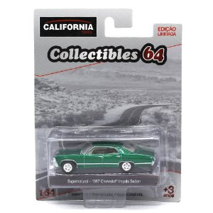 GREEN MACHINE Chevrolet Impala Sedan 1967 Supernatural 1/64 Greenlight California Collectibles 64