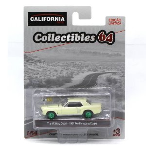GREEN MACHINE Ford Mustang Coupe 1967 The Walking Dead 1/64 Greenlight California Collectibles 64
