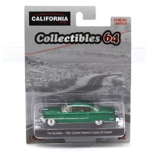 GREEN MACHINE Cadillac Fleetwood Series O Poderoso Chefão 1/64 Greenlight California Collectibles 64