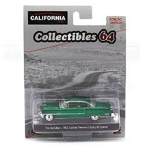 GREEN MACHINE Cadillac Fleetwood Series O Poderoso Chefão 1/64 Greenlight California Collectibles 64