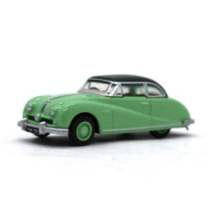 Austin Atlantic Saloon Verde 1/76 Oxford Automobile