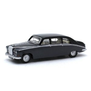 Daimler DS420 Embassy Preto 1/76 Oxford Automobile