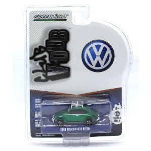 GREEN MACHINE Volkswagen Fusca 1948 1/64 Greenlight V-Dub Club Serie 5