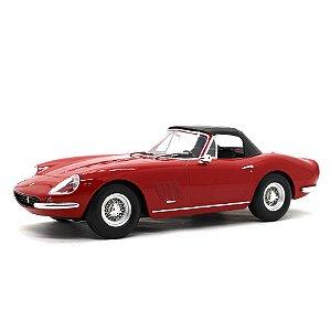 Ferrari 275 GTB/4 Nart Spider 1967 Vermelho 1/18 Kk Scale
