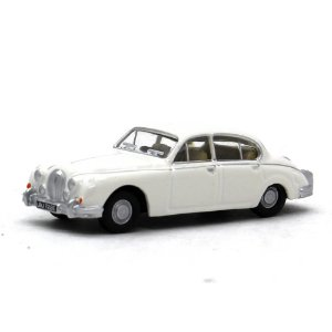 Jaguar MKII Old English Branco 1/76 Oxford Automobile Company