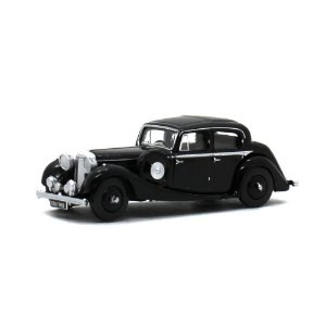 Jaguar SS 2.5 Saloon Preto 1/76 Oxford Automobile Company