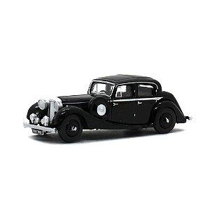 Jaguar SS 2.5 Saloon Preto 1/76 Oxford Automobile Company