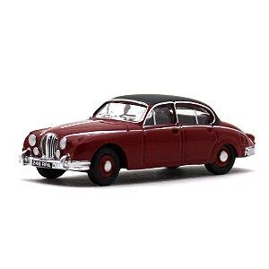 Jaguar MKII Vermelho 1/76 Oxford Automobile Company